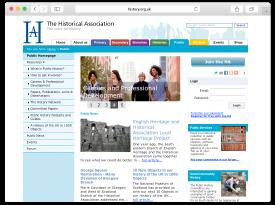 Historical Association Website