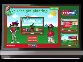 N Power: 'Little Green Fingers' Games