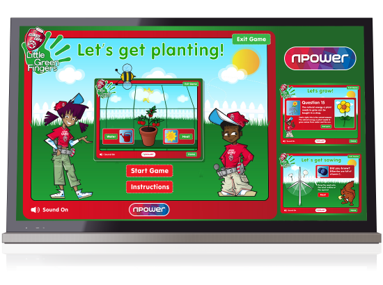 N Power 'Little Green Fingers' Games