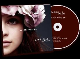 Gabrielle Aplin 'Never Fade EP' Cover Design