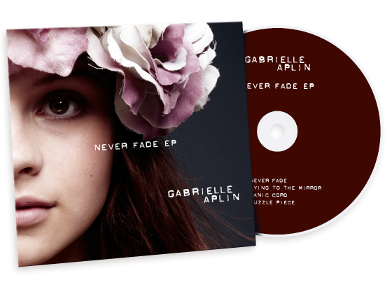 Gabrielle Aplin Never Fade EP Cover Design