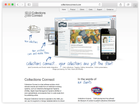 Collections Connect Website and Management System