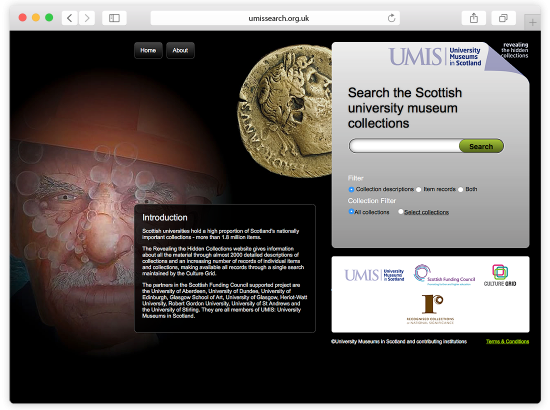 University Museums Scotland - Search The Hidden Collections Website