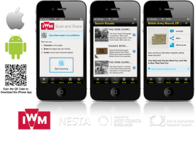 'IWM Scan and Share' iPhone and Android App