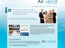 Airvend UK Ltd Website