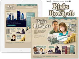 The Baring Archive 'ING Risks and Rewards' Website
