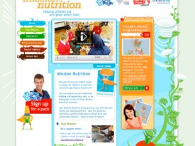 BBC – Blue Peter Appeal 'Mission Nutrition' Website