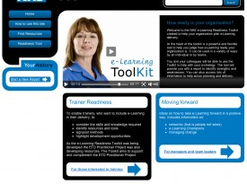 NHS e-Learning ToolKit Website