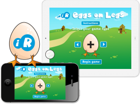 'Eggs On Legs' iPhone and iPad Apps