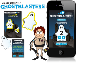 Ghostblasters iPhone and iPad Apps
