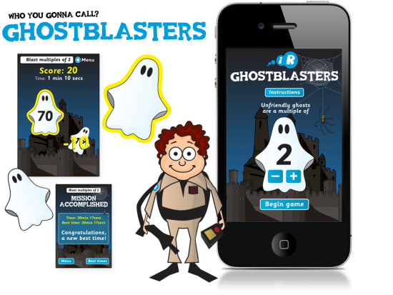 Ghostblasters iPhone App