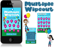 Multiple Wipeout iPhone and iPad Apps