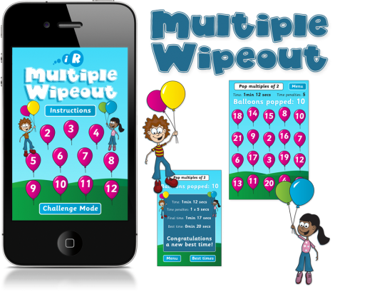 Multiple Wipeout iPhone App