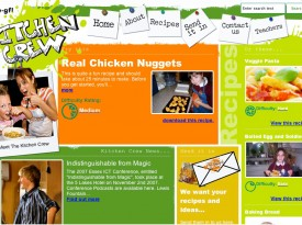 E-GFL - Kitchen Crew Website