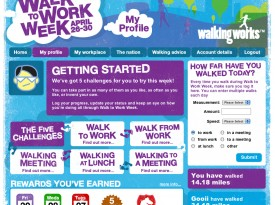 Walk To Work Week 2010 Website