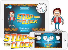 Primary Games 'Stop The Clock' Apps