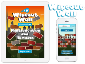 Primary Games Wipeout Wall Apps