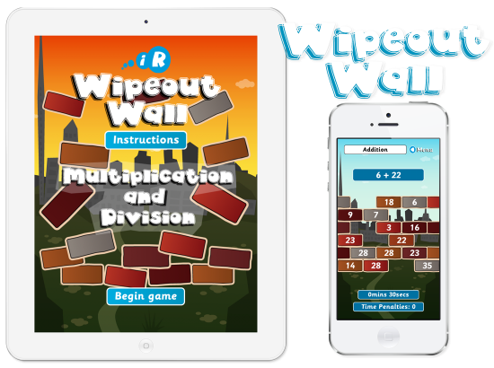 Primary Games Wipeout Wall iPhone and iPad Apps