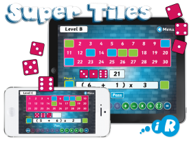 Primary Games 'Super Tiles' iPhone and iPad Apps