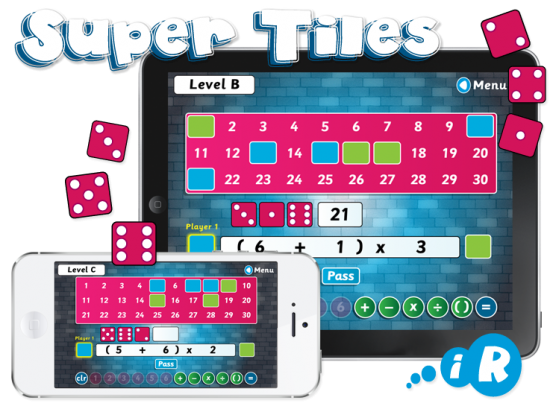 Super Tiles iPhone and iPad App