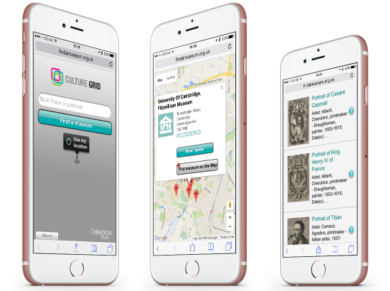 Collections Trust - Cambridge - Find A Museum Mobile App