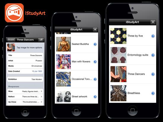 iStudyArt iPhone App