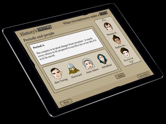 What Makes A Hero? iPad App