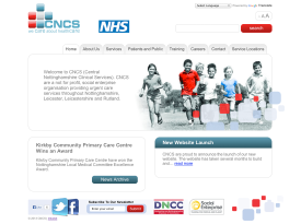 'CNCS' NHS Website
