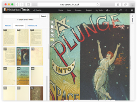JISC Historical Texts Website Design and Coding
