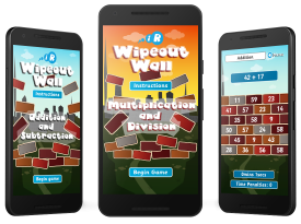 'Wipeout Wall' Android and Amazon Kindle Fire Apps