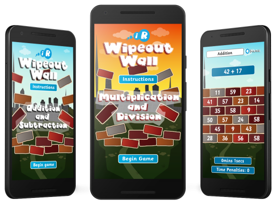 Interactive Resources Wipeout Wall Android and Amazon Apps