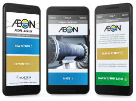 Radius Systems – 'Aeon Locator' Android and Web App