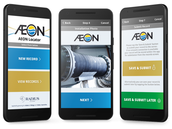 Aeon Locator Android App