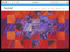 'Patrick Goff' Responsive Website