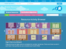Interactive Resources - Full Site Redesign and Rebuild